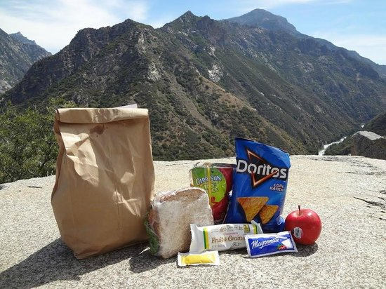 Montecito Sequoia Lodge & Summer Family Camp: Bag lunch