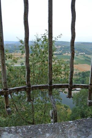 Château de Mercuès : vue sur le Lot