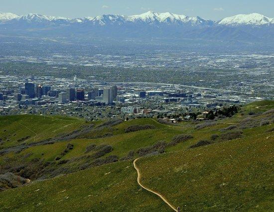 Salt Lake City Foothills Picture Of Salt Lake City Utah