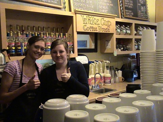 Wake Cup Coffee House: Friendly and fun servers!