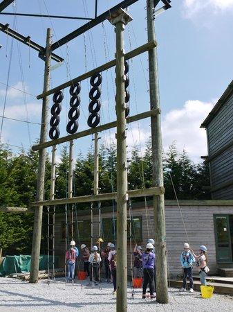High Adventure: High wire frame