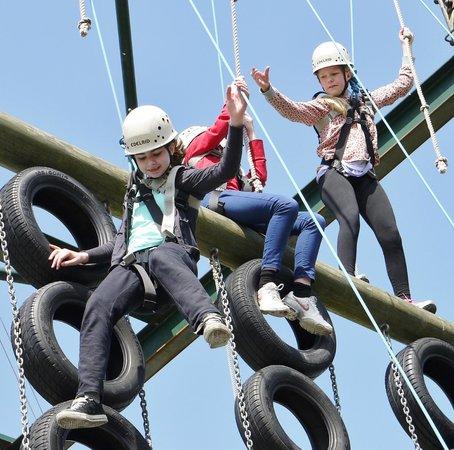High Adventure: High wire