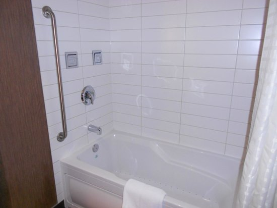 Radisson Hotel and Convention Centre: Jetted tub and spa shower