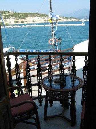 Hotel Polyxeni: lovely little balcony!