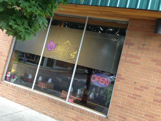Thai Orchid Cafe : Our Store Front!