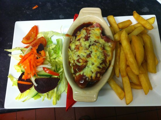 Horse and Jockey Restaurant: Yummy grub!