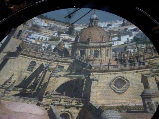Camara Oscura Alcazar Jerez de la Frontera: Camera Obscura Image of Cathedral