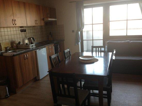 Apartments Praha 6: kitchen/dining