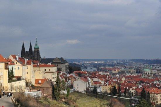 Apartments Praha 6: view from Strahov monastery
