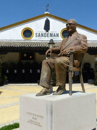The House of Sandeman Jerez: Entrance to Sandeman Bodega