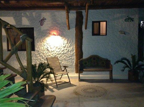 Hotel Casa Lupita: Un solar
