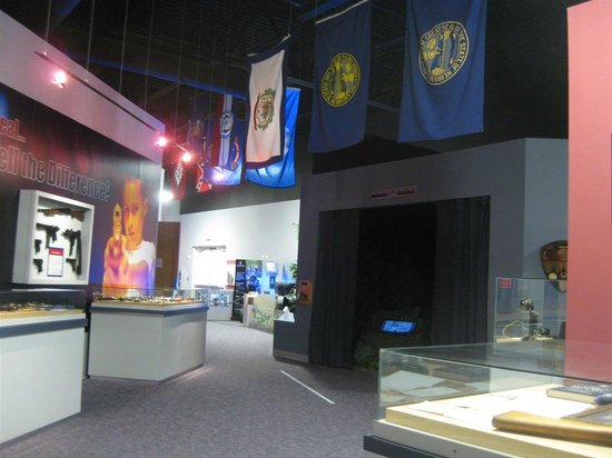 American Police Hall of Fame : Part of the large display area