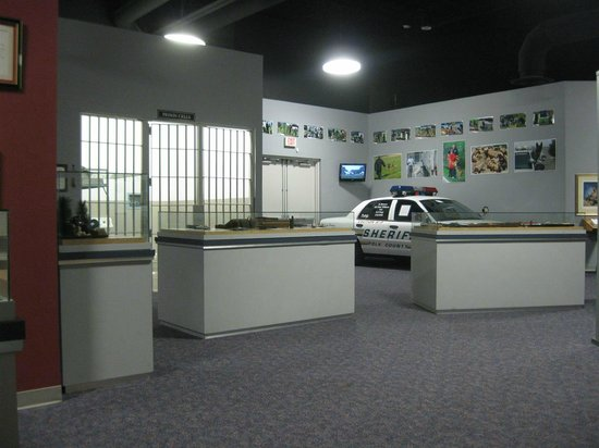 American Police Hall of Fame: More of the display area