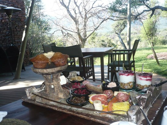 Marataba Safari Lodge: Breakfast