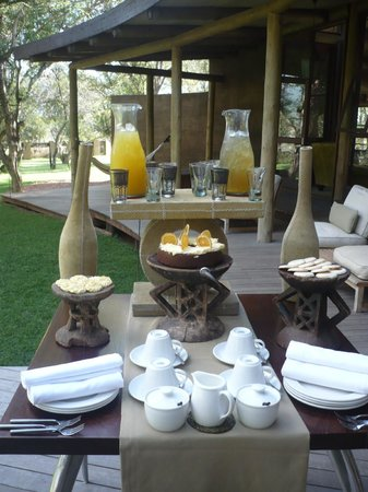 Marataba Safari Lodge: Tea time