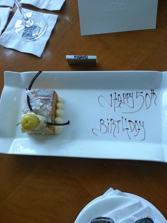 Hotel Arts Barcelona: What a super awesome thoughtful staff!