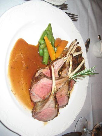 Mountain View Brasserie Incorporated: rack of lamb