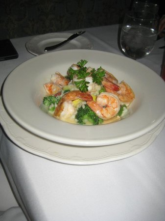 Mountain View Brasserie Incorporated: shrimp risotto