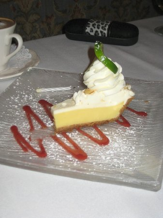 Mountain View Brasserie Incorporated: key lime pie