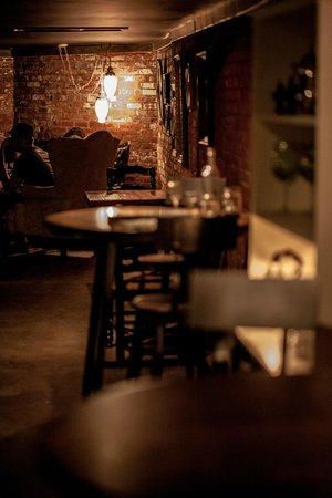Cellar Door: Intimate, comfortable and casual.