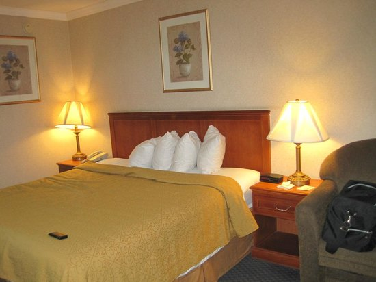 Quality Inn Near Hollywood Walk of Fame: Apartamento
