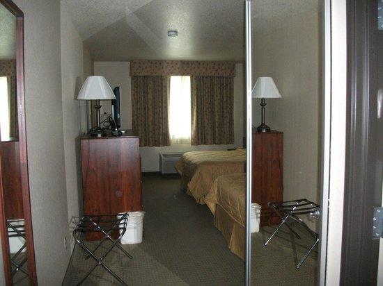 SureStay Plus Hotel Buffalo: Bedroom