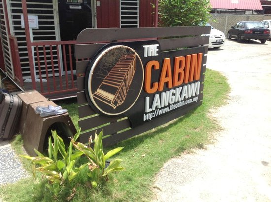The Cabin Langkawi: The Cabin entrance