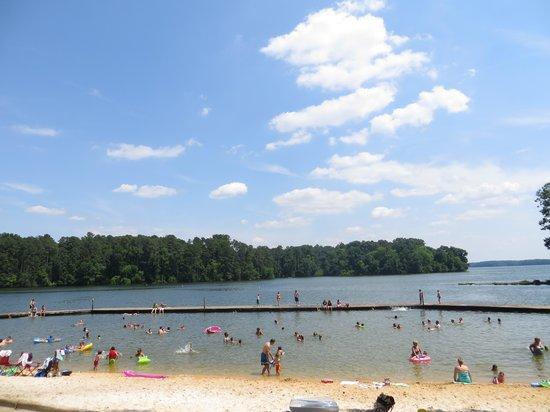 Joe Wheeler State Park: Beach View