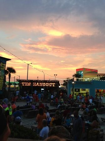 The Hangout- at sunset :)