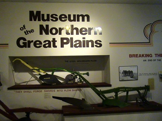 Museum of the Northern Great Plains: Plows and much more!