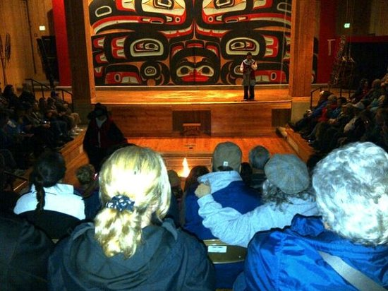Sitka Tribe Dance Performances: Guests during Show