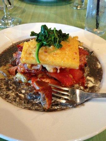 Sabor Latin Bar & Grill: Polenta Tower with Pork