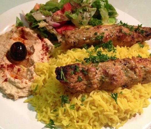 Marhaba: Chicken Kufta!  Very tasty!