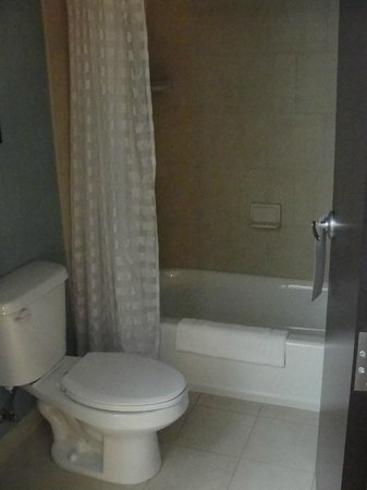 Hyatt Place Salt Lake City Airport : Suite bathroom
