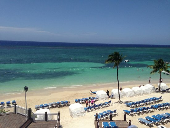 Beaches Ocho Rios Resort & Golf Club: This was the view from our terrace.