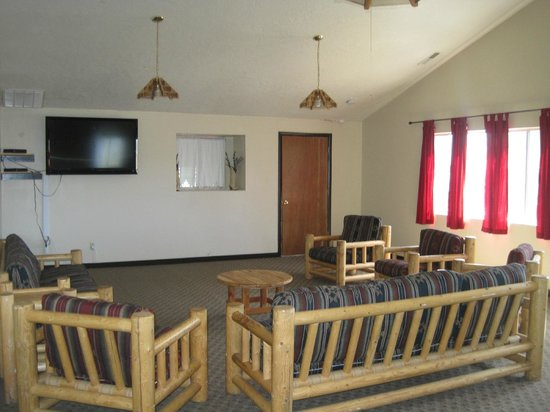 Rockin' R Ranch: Conference room to hold meetings