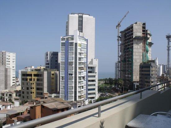 Hotel Runcu Miraflores: Vista Mañanera