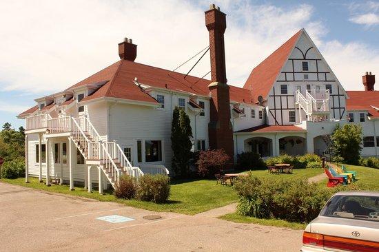 Keltic Lodge Resort & Spa : Rear View of Keltic Lodge
