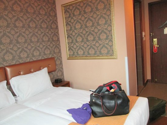 Best Western Hotel Causeway Bay : Too cramped