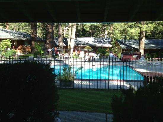 Lazy S Lodge: view from 104