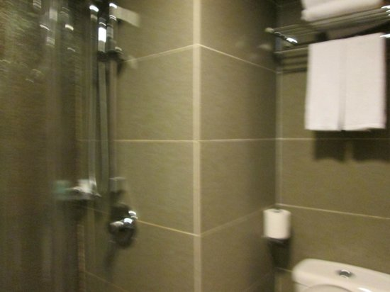 Best Western Hotel Causeway Bay : The shower