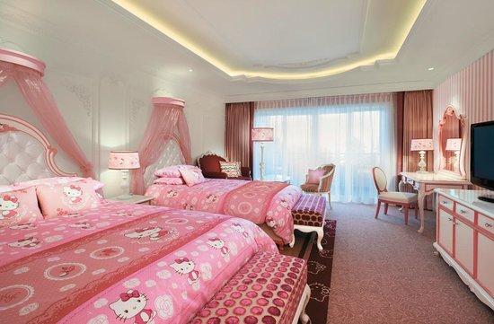 Lotte Hotel Jeju : HELLO KITTY ROOM