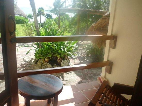 Hotel Tierra Maya: balcony