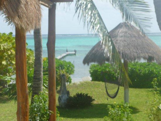 Hotel Tierra Maya: View from room