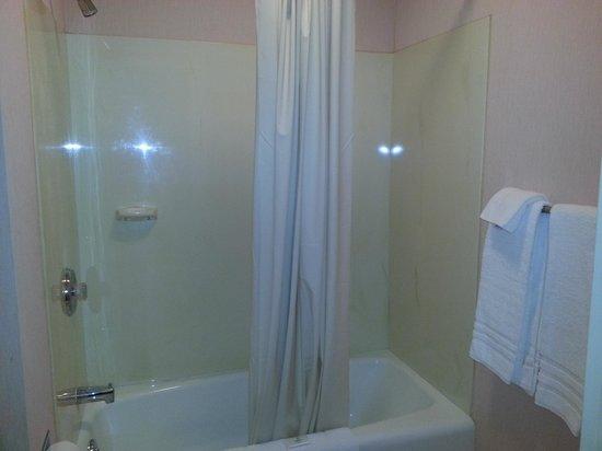 Budget Host Inn: Clean tub, lots of towels