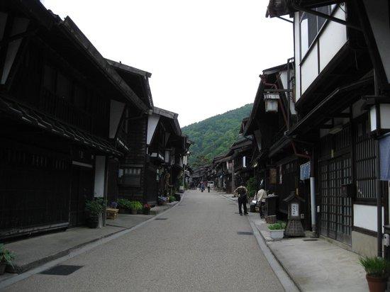 Naraijuku: 土曜日だったが観光客はそれほど多くなかった。