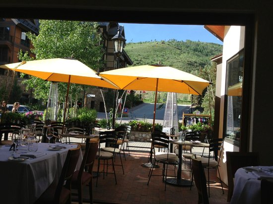 La Tour Restaurant : View from our table