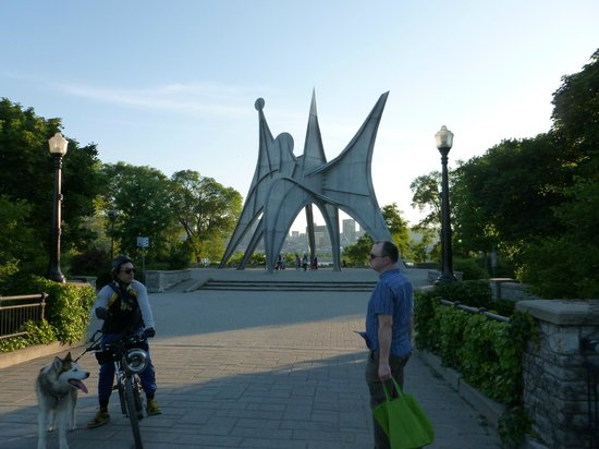 Casino de Montreal: Jean Drapeau park - when you get off the metro and before getting on the bus