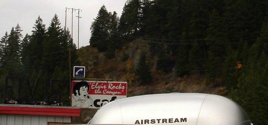 Elvis Rocks The Canyon Cafe: Two American Icons - Airstream and Elvis!