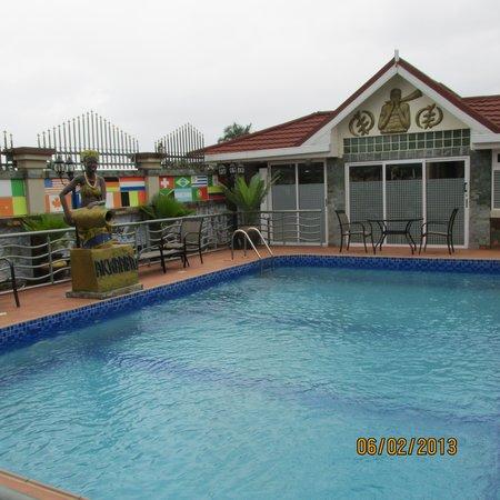 Charleston Hotel Ghana: Pool Area